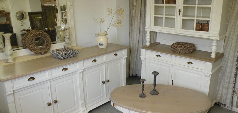 Poort meubel landelijk wit for Meubels landelijke stijl